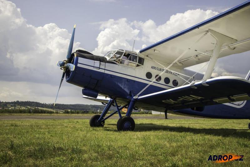 Letadlo AN2 Hořovice