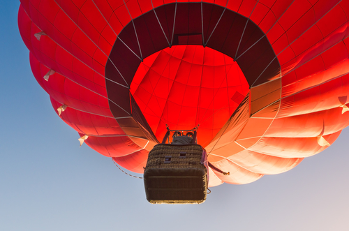 Let horkovzdušným balonem