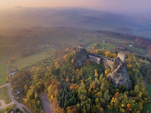 Zřicenina hradu Trosky