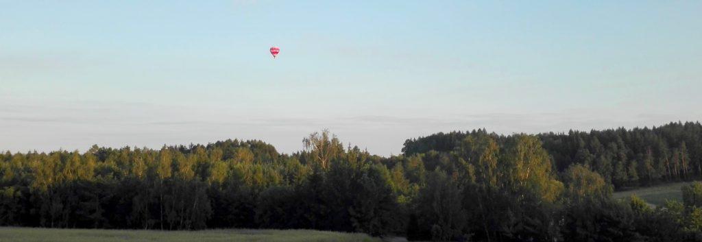 Let balonem Jihlava nad krajinou, nádherný vyhlídkový let