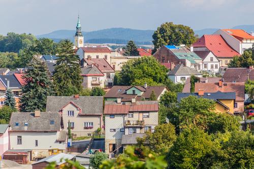 Pohled na Žamberk