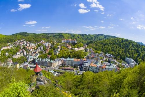 Let letadlem Karlovy Vary