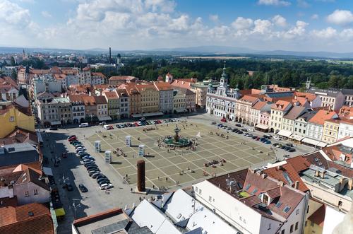 Let balonem České Budějovice nabízí top pohled na město