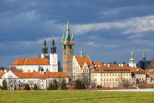 Výhled na město Klatovy