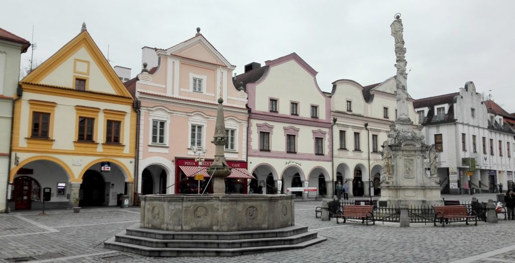 Let balonem Třeboň - náměstí