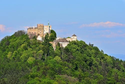 Let balonem Buchlov nabízí krásný pohled na hrad
