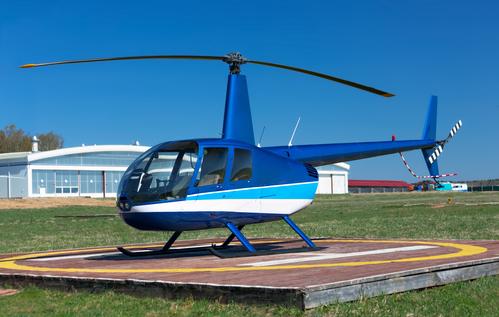 Vyhlídkový let vrtulníkem Mladá Boleslav