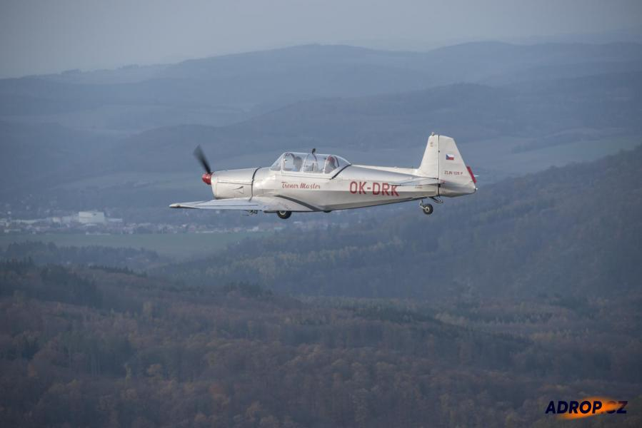 Let akrobatickým letadlem Brno