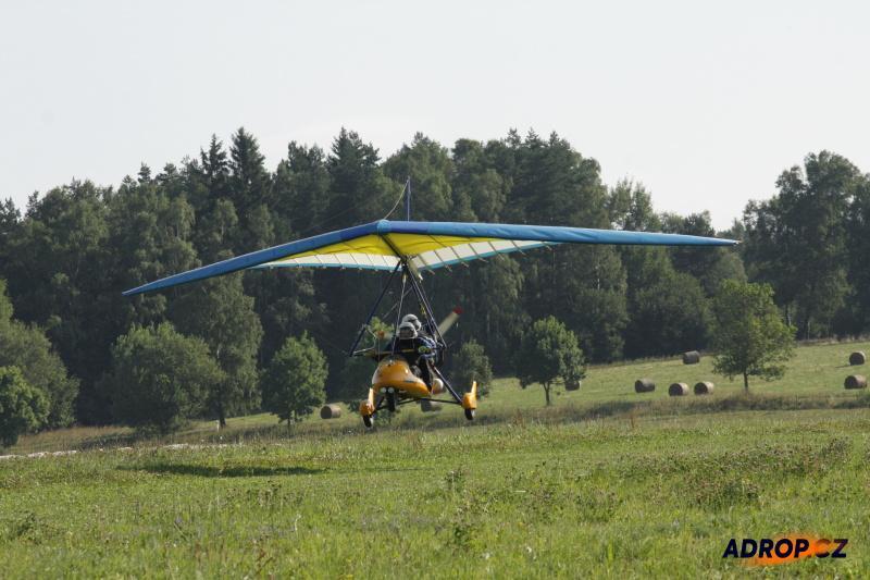 Let rogalem, létání s motorovým rogalem
