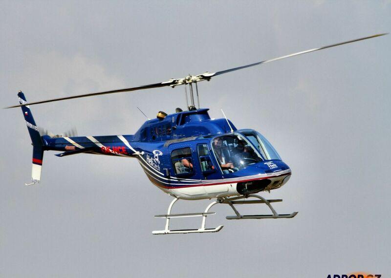 Vyhlídkový let luxusním vrtulníkem