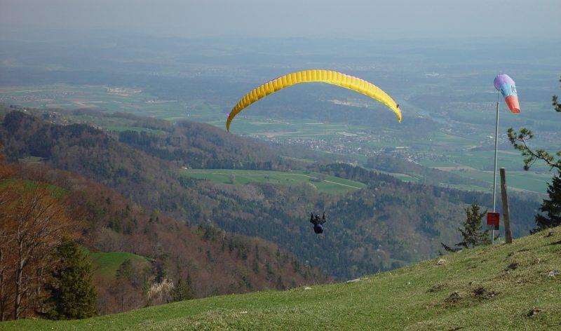 Tandemový paragliding Beskydy