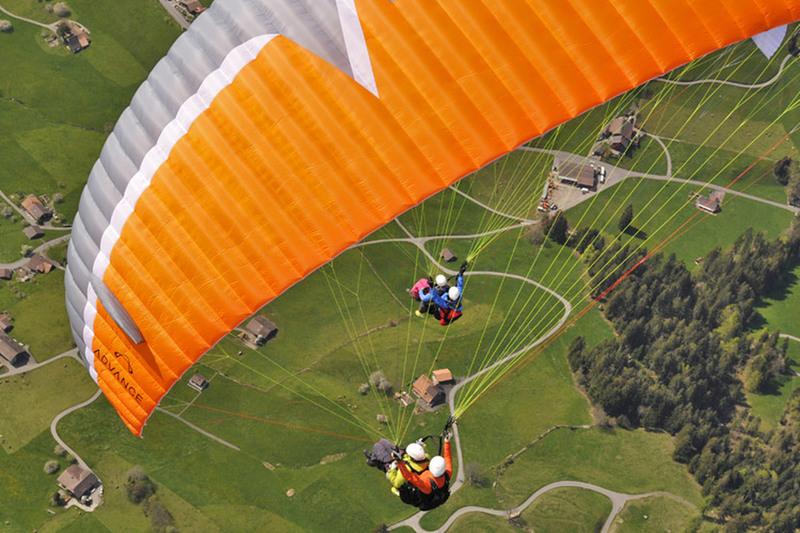 Tandemový paragliding pro 2 osoby