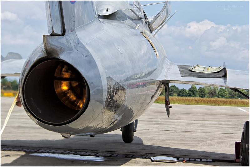 Motor stíhačky MiG-15
